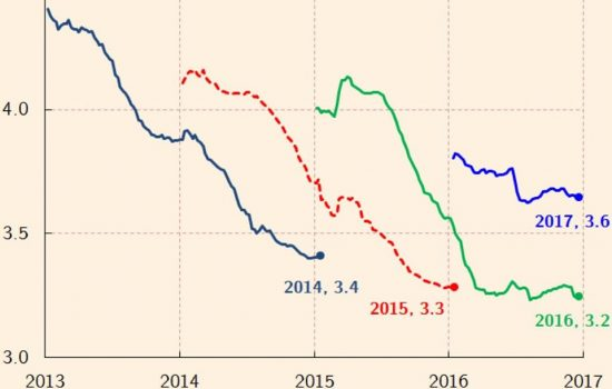 I crocevia economici del 2017