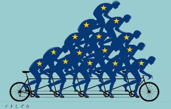 L'INDUSTRIA EUROPEA TORNA A CORRERE