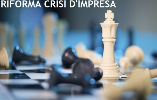 LA DISCIPLINA DELLA CRISI D'IMPRESA IN ITALIA È LONTANA DA UNA VERA SVOLTA
