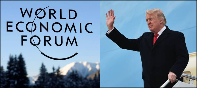 COSA CI FA DONALD TRUMP AL FORUM DI DAVOS (LA FIERA DEI MULTIMILIARDARI CHE VOGLIONO ORIENTARE IL MONDO)?