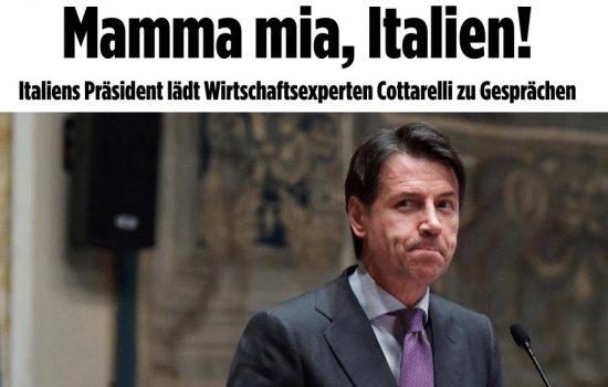 L'INGANNEVOLE ENFASI DEGLI ORGANI DI STAMPA SULLA MANOVRA ECONOMICA ITALIANA