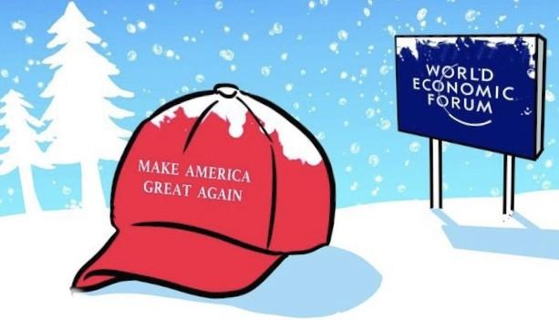 L'OTTIMISMO DI TRUMP A DAVOS